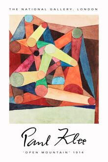 Art Classics, Open Mountain by Paul Klee (Deutschland, Europa)