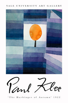 Art Classics, The Harbinger of Autumn by Paul Klee (Germany, Europe)