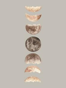 Christina Wolff, Phases of the Moon Art Print (Deutschland, Europa)