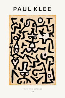 Art Classics, Paul Klee Comedians Handbill (Germany, Europe)