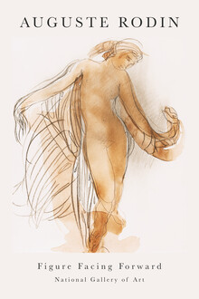 Art Classics, Figure Facing Forward by Auguste Rodin (France, Europe)