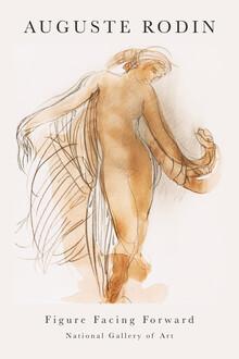 Art Classics, Figure Facing Forward von Auguste Rodin (Frankreich, Europa)