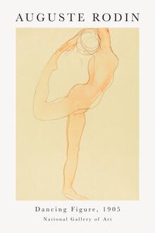 Art Classics, Dancing Figure von Auguste Rodin (Frankreich, Europa)