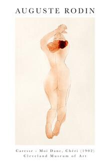 Art Classics, Caresse, moi danc, chéri von Auguste Rodin (Frankreich, Europa)