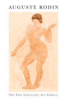 Art Classics, Nude, Right Knee Flexed by Auguste Rodin (France, Europe)