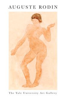 Art Classics, Nude, Right Knee Flexed von Auguste Rodin (Frankreich, Europa)