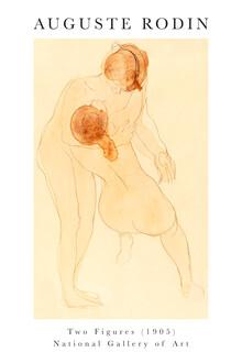 Art Classics, Two figures von Auguste Rodin (Frankreich, Europa)