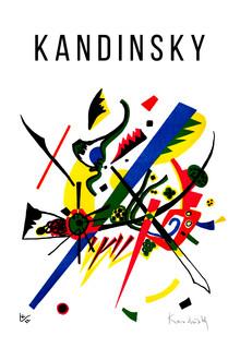 Art Classics, Small Worlds I by Wassily Kandinsky (Germany, Europe)