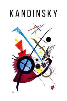 Art Classics, Violet litograph print by Wassily Kandinsky (Germany, Europe)