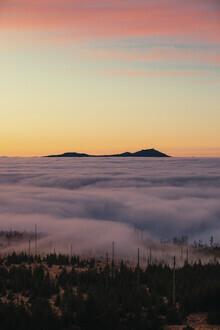 Florian Eichinger, Berge im Nebel (Deutschland, Europa)