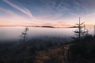 Florian Eichinger, Nebel zwischen Himmel und Berg (Deutschland, Europa)