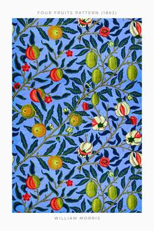 Art Classics, Four Fruits Pattern von William Morris (Großbritannien, Europa)