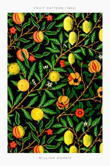 Art Classics, Fruit Pattern 1862 von William Morris (Großbritannien, Europa)