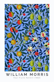 Art Classics, Four Fruits Pattern II von William Morris (Großbritannien, Europa)