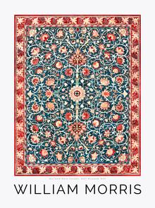 Art Classics, Carpet Pattern von William Morris (Großbritannien, Europa)
