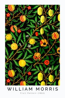 Art Classics, Fruit Pattern 1862 II von William Morris (Großbritannien, Europa)