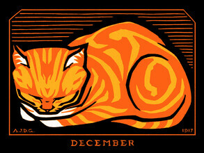 Vintage Collection, December Cat (United States, North America)