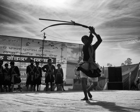 Jagdev Singh, martial art (Indien, Asien)