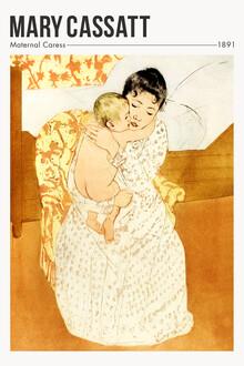 Art Classics, Maternal Caress by Mary Cassatt (United States, North America)