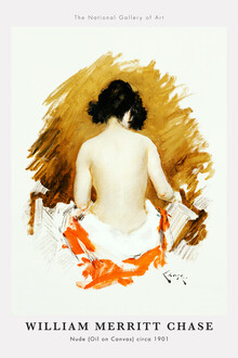 Art Classics, Nude by William Merritt Chase (United States, North America)