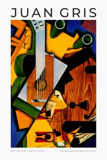 Art Classics, Still Life with a Guitar by Juan Gris (Spain, Europe)