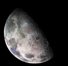 Nasa Visions, Moon - north polar mosaic (Germany, Europe)