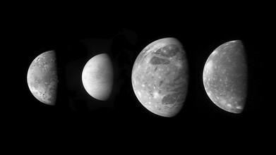 Nasa Visions, Jupiter's Moons (Germany, Europe)
