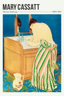 Art Classics, Woman Bathing by Mary Cassatt (France, Europe)