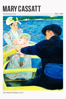 Art Classics, The Boating Party by Mary Cassatt (France, Europe)