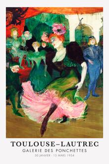 Art Classics, Toulouse-Lautreec in der Galerie des Ponchettes (Frankreich, Europa)