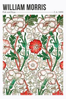 Art Classics, Pink and Rose von William Morris (Großbritannien, Europa)