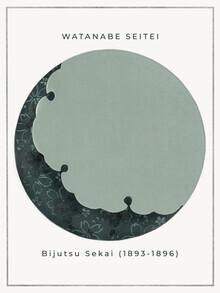 Japanese Vintage Art, Moon by Watanabe Seitei (Germany, Europe)