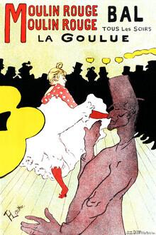 Art Classics, Henri de Toulouse-Lautrec: Affiche pour le Moulin Rouge  (France, Europe)