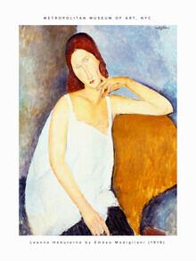 Art Classics, Amedeo Modigliani: Jeanne Hébuterne (France, Europe)