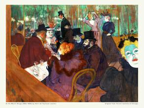 Art Classics, Henri de Toulouse–Lautrec: At the Moulin Rouge (Germany, Europe)