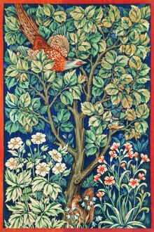 Art Classics, William Morris and John Henry Dearle: Cock Pheasant (United Kingdom, Europe)