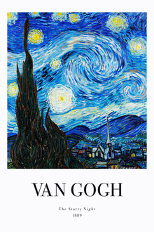 Art Classics, The Starry Night by Vincent Van Gogh - exhibition poster (Germany, Europe)