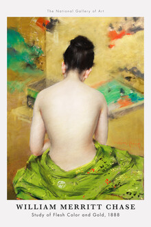 Art Classics, William Merritt Chase: Study of Flesh Color and Gold (1888) (Germany, Europe)