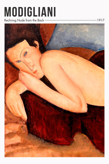 Art Classics, Amedeo Modigliani: Nu couché de dos (Frankreich, Europa)