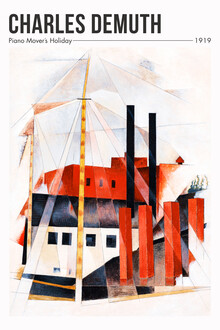 Art Classics, Charles Demuth: Piano Mover's Holiday (Vereinigte Staaten, Nordamerika)