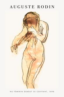 Art Classics, Auguste Rodin: female nude (Germany, Europe)