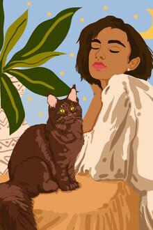 Uma Gokhale, Proud Cat Mama (India, Asia)