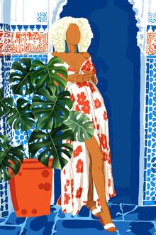 Uma Gokhale, Modern Bohemian Exotic Woman (India, Asia)