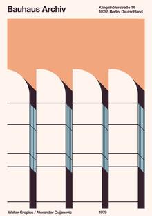 Florent Bodart, Bauhaus Archiv (Deutschland, Europa)
