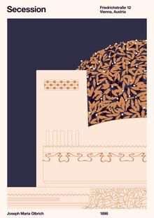 Florent Bodart, Secession Print Creme (Deutschland, Europa)