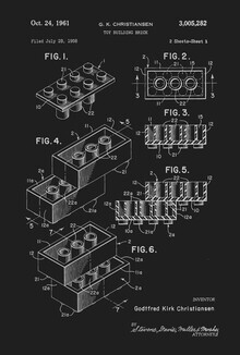 Florent Bodart, Lego Print schwarzweiß (Deutschland, Europa)