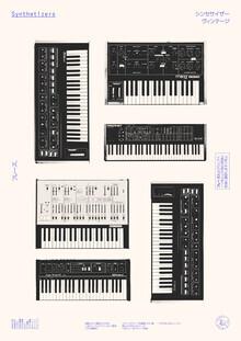 Florent Bodart, Synthesizers - Japanische Sammlung (Deutschland, Europa)