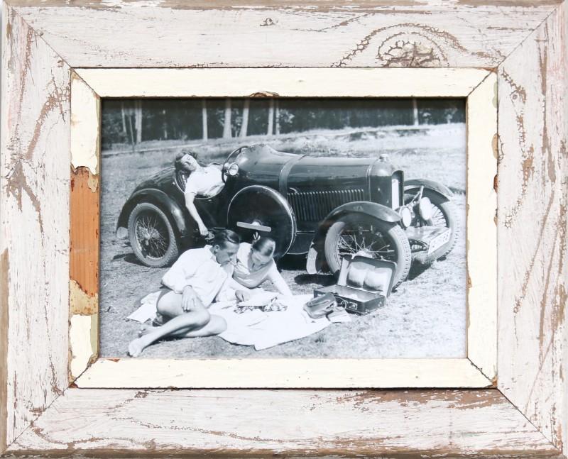 Ausflug mit dem Auto, 1930\' - A4 (43 x 34 cm) Bilderrahmen   Photocircle