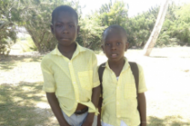 Sponsor Olrich in Haiti