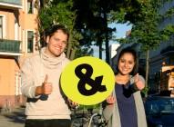 Drei Berliner Schülerpaten vermitteln
